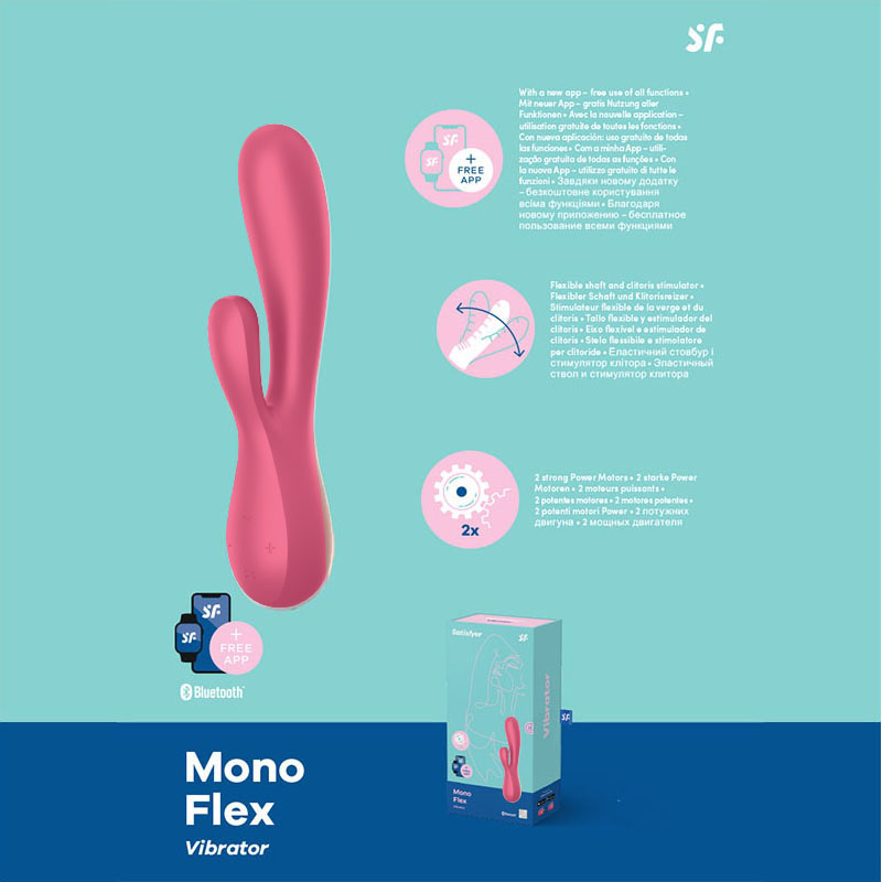 Satisfyer Mono Flex - Red