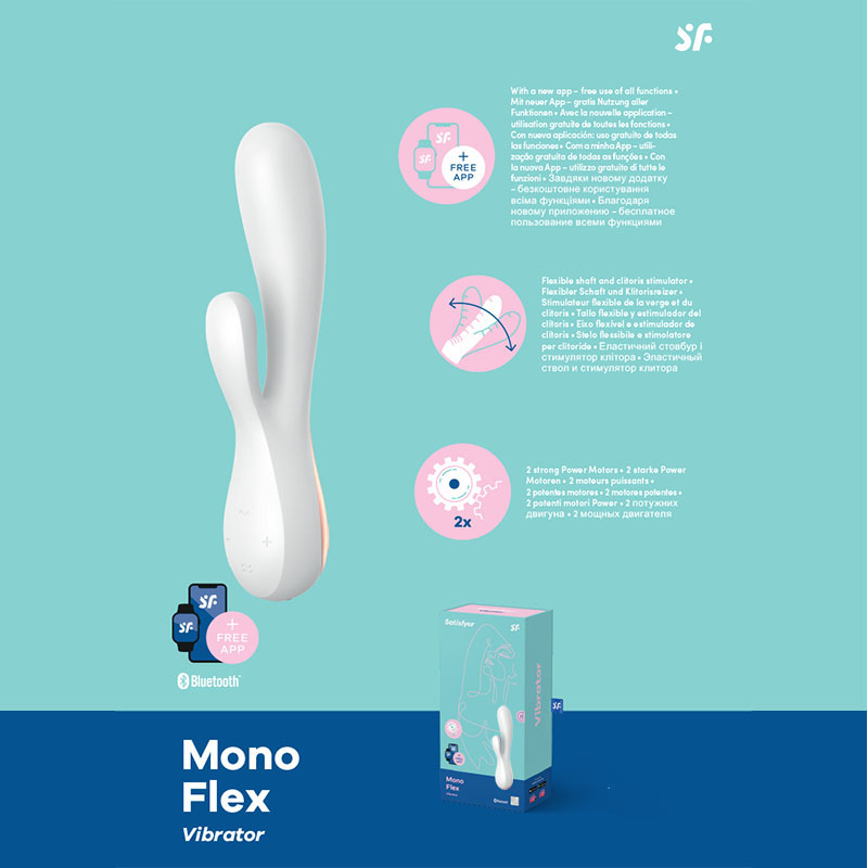 Satisfyer Mono Flex - White