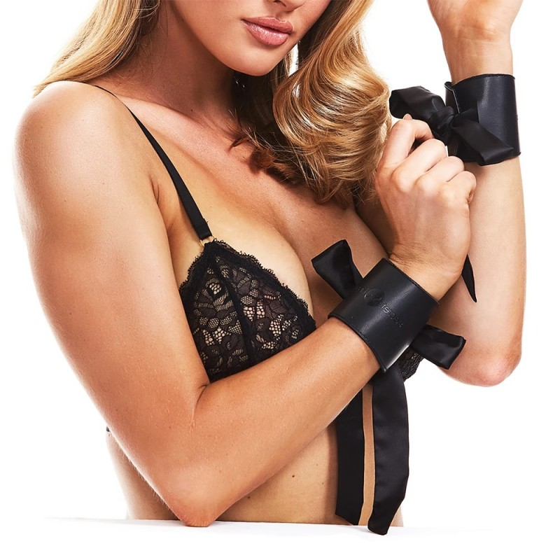 Secret Kisses Wild Tamer Faux Leather Cuffs