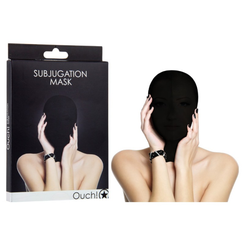 Ouch! Subjugation Mask - Black