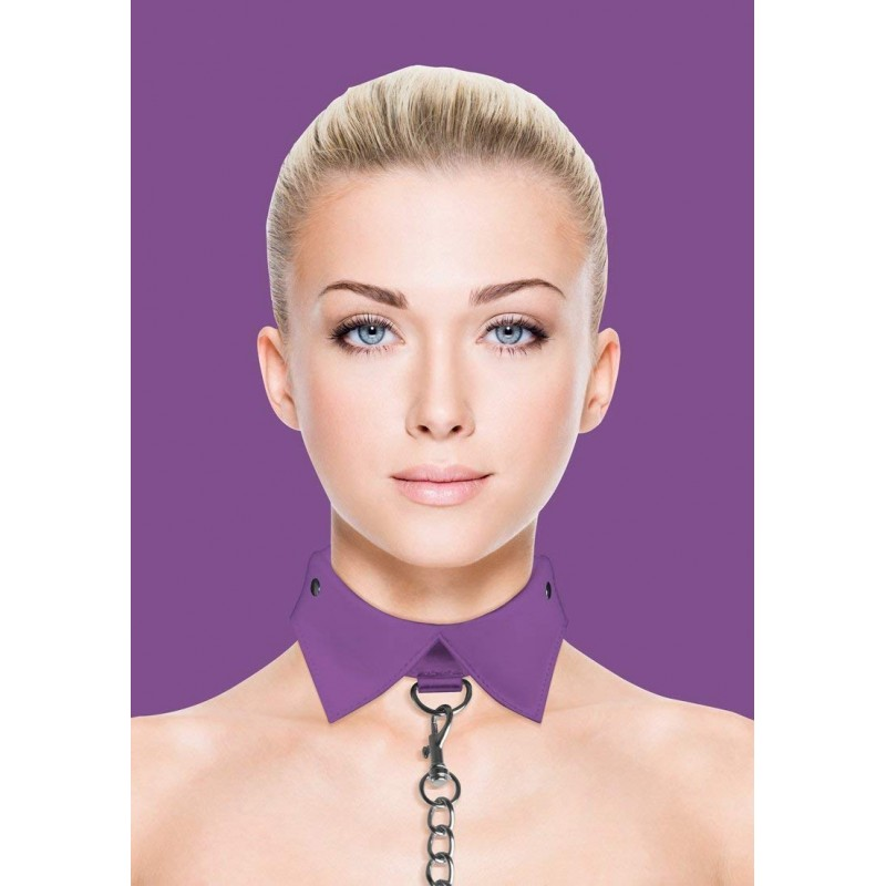 Ouch! Exclusive Collar & Leash - Purple