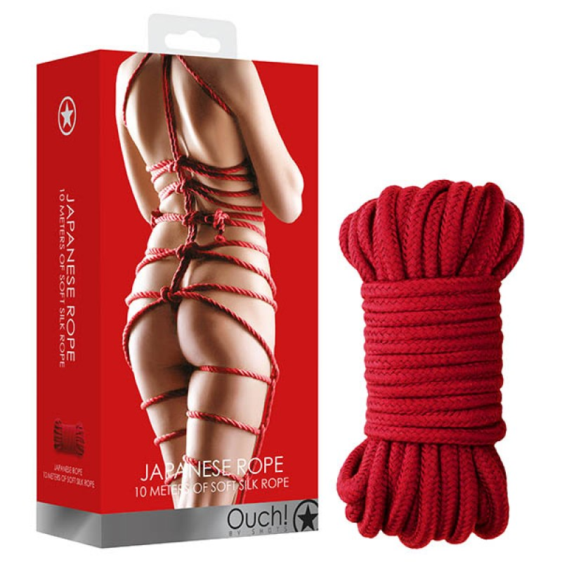 OUCH! Japanese Rope 10 Metres - Red
