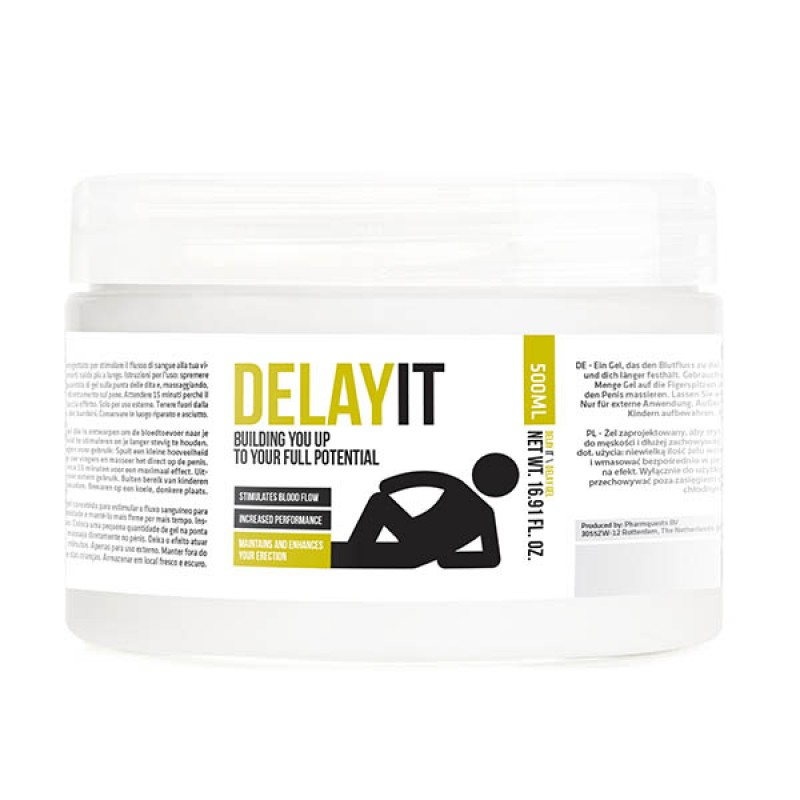 Pharmquests Delay It - 500 ml Tub