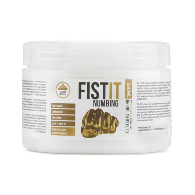 Pharmquests Fist-It Numbing - 500 ml Tub