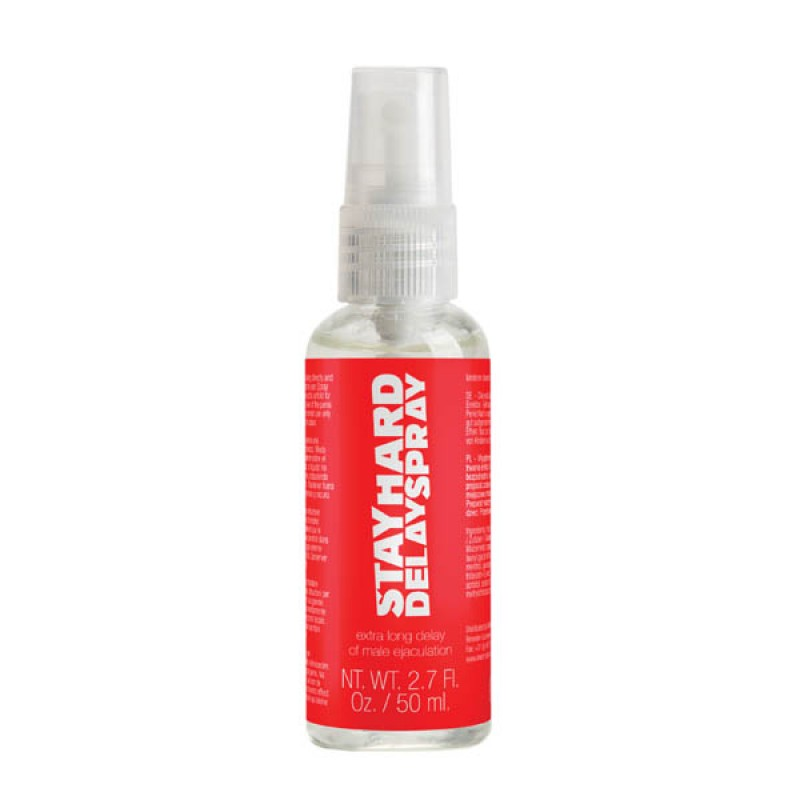 Pharmquests Stay Hard Delay Spray - 50 ml Bottle