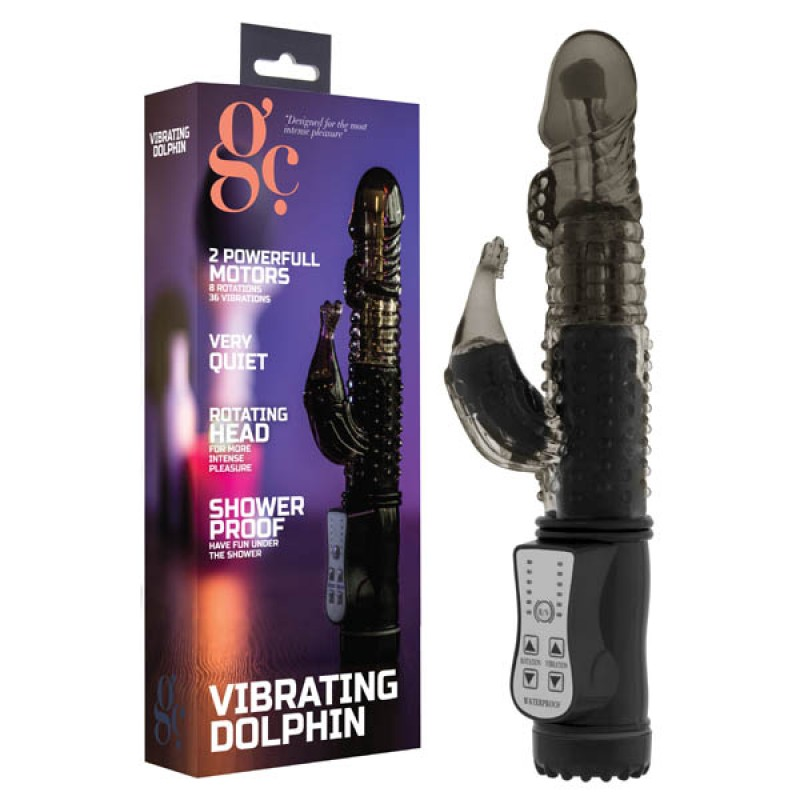 GC. Vibrating Dolphin - Black