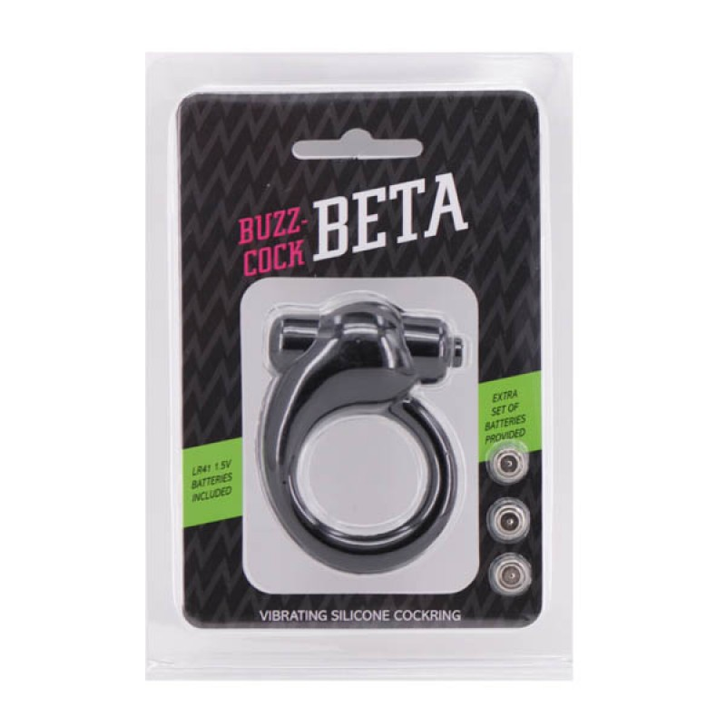 Buzz-Cock Beta - Vibrating Silicone Cock Ring