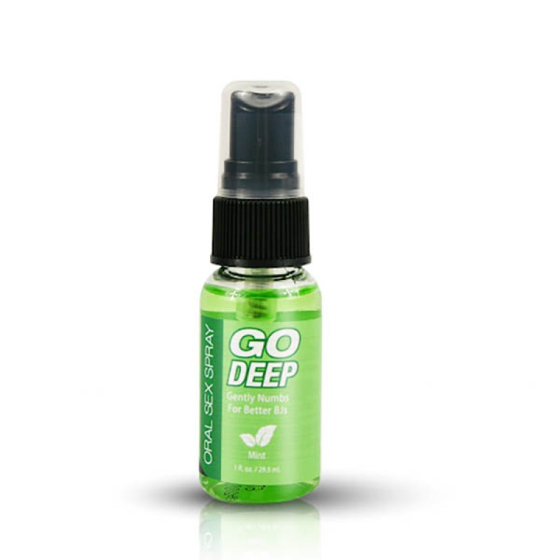 Go Deep Oral Sex Spray 29 ml - Mint