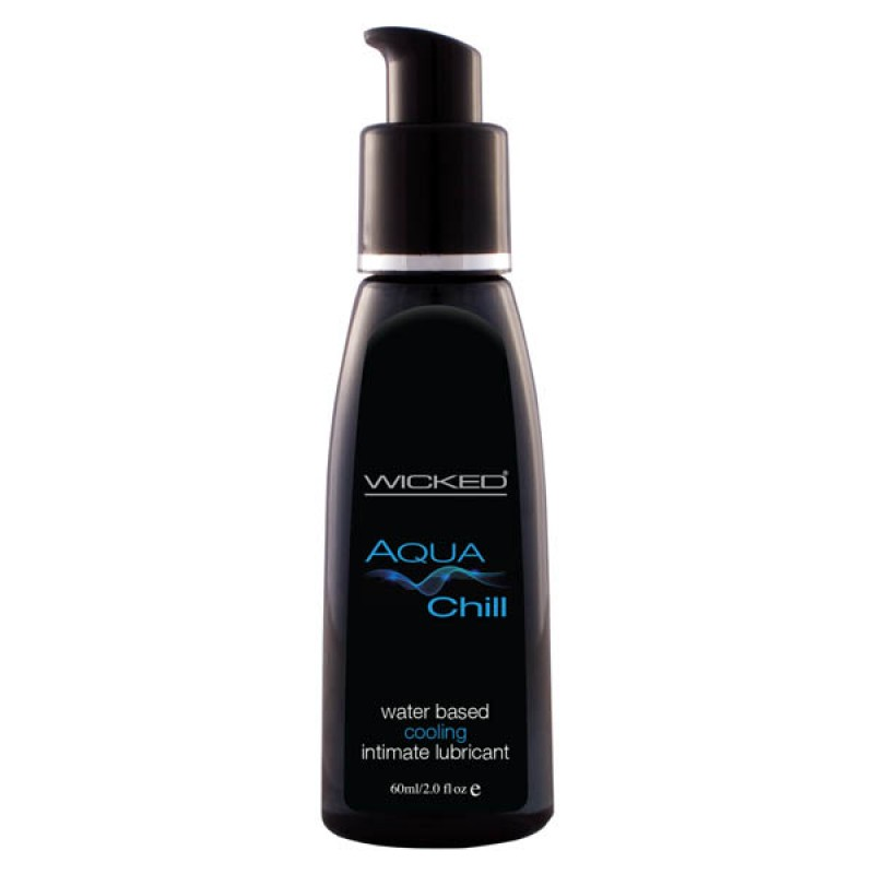 Wicked AQUA CHILL Water Based Cooling Lube - 60ml