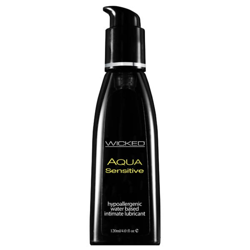 Wicked AQUA SENSITIVE Hypoallergenic Lube - 120ml
