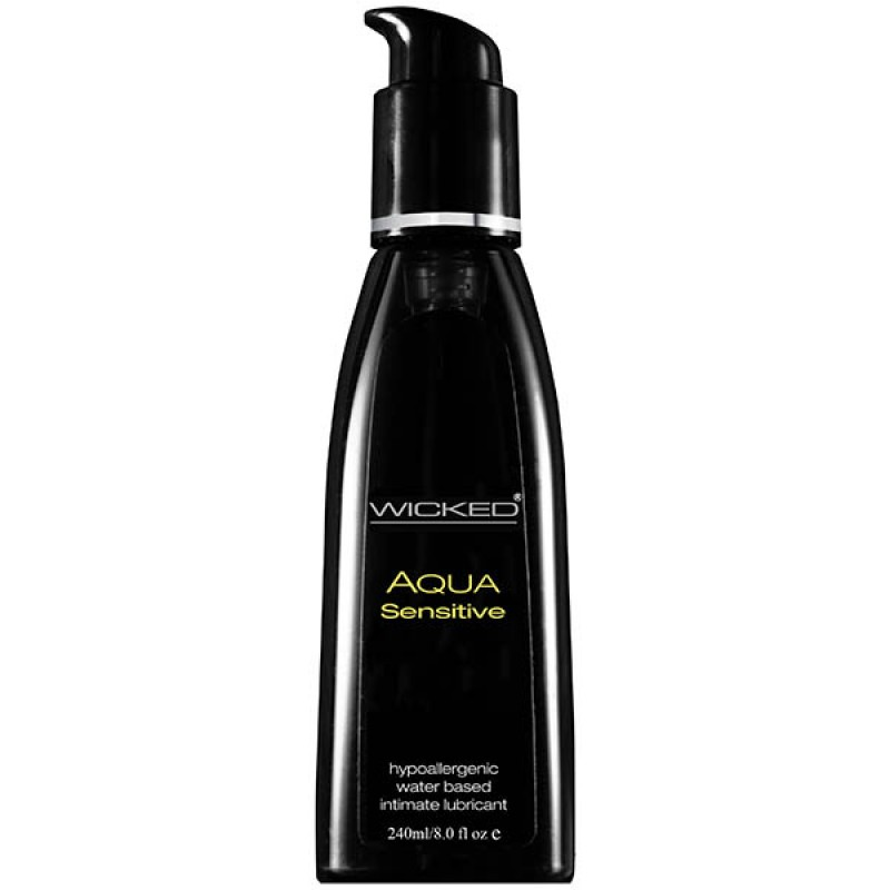 Wicked AQUA SENSITIVE Hypoallergenic Lube - 240ml