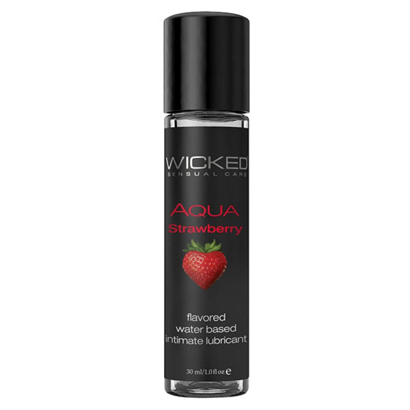 Wicked Aqua - Strawberry - 30ml
