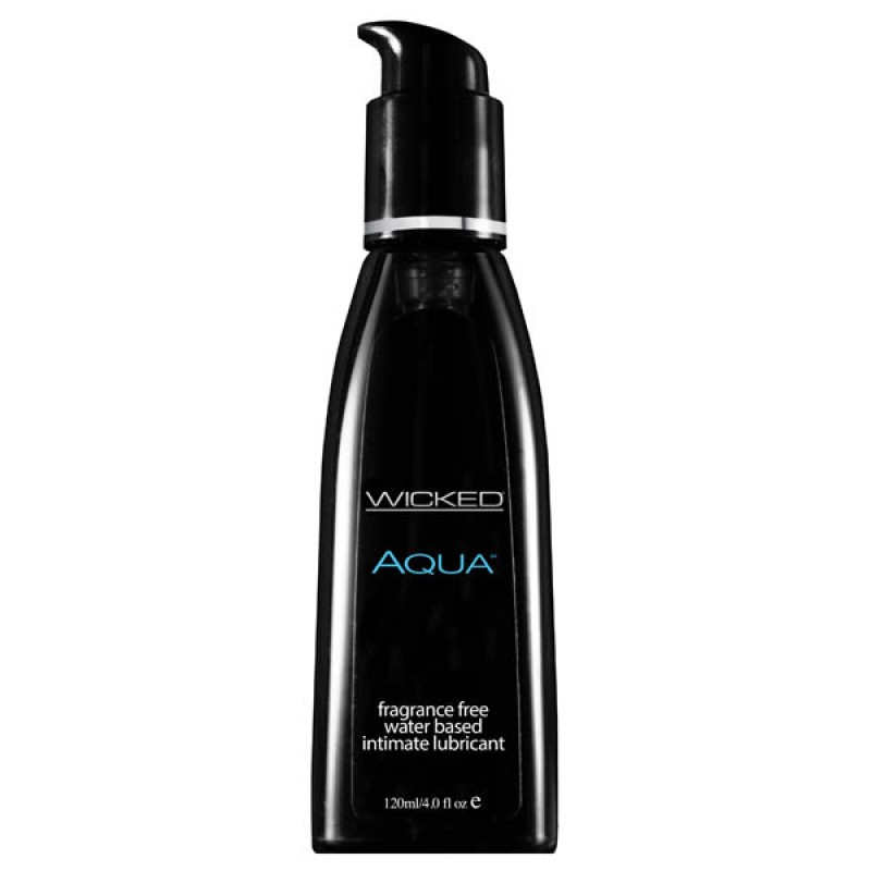 Wicked AQUA Unscented Lubricant - 120ml