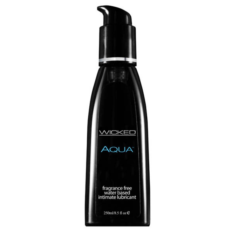 Wicked AQUA Unscented Lubricant - 250ml