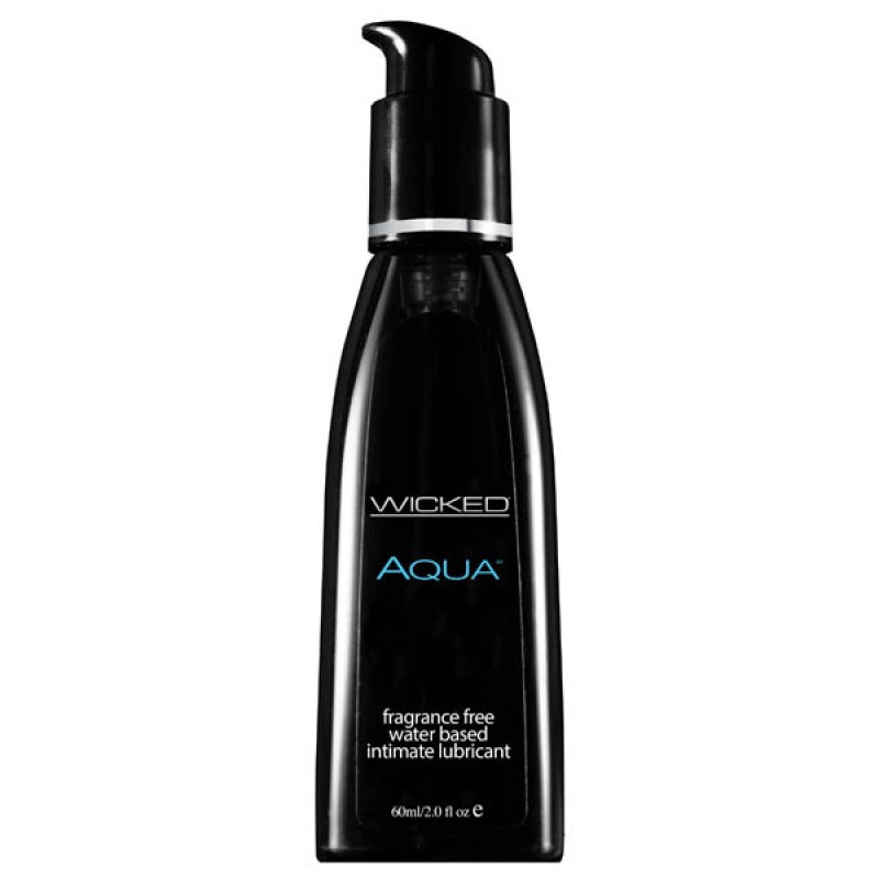 Wicked AQUA Unscented Lubricant - 60ml