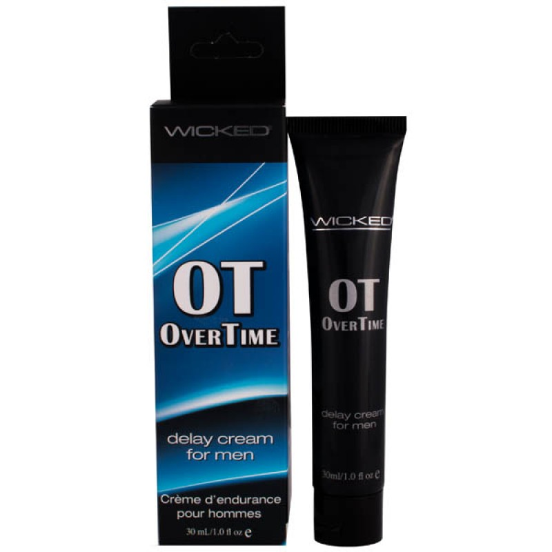 Wicked Overtime Delay Cream For Men - 30 ml (1 oz) Tube