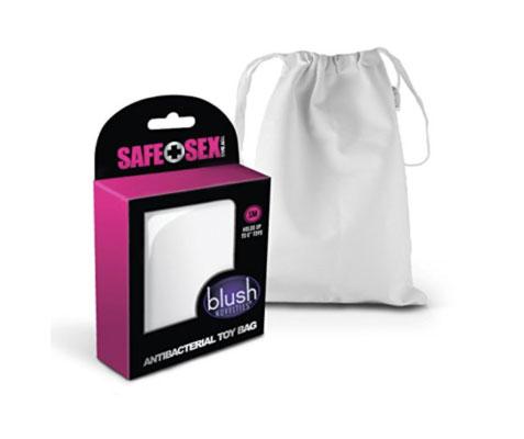 anti-bacterial sex toy storage bag