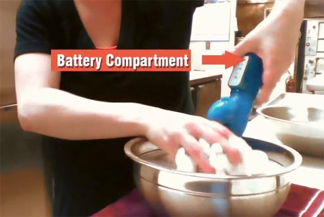 example cleaning battery toy