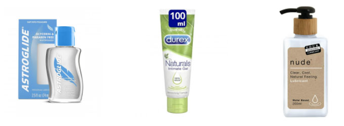 great examples of water based lubes